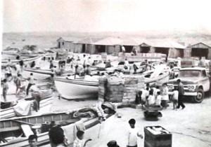 Praia do Cardoso década 70. Arquivo - Rasgamar